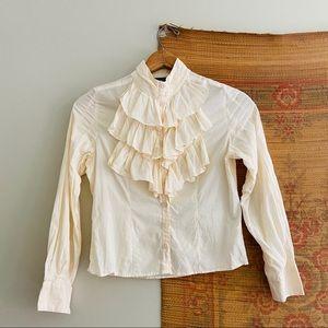 Vtg Victorian Style Blouse